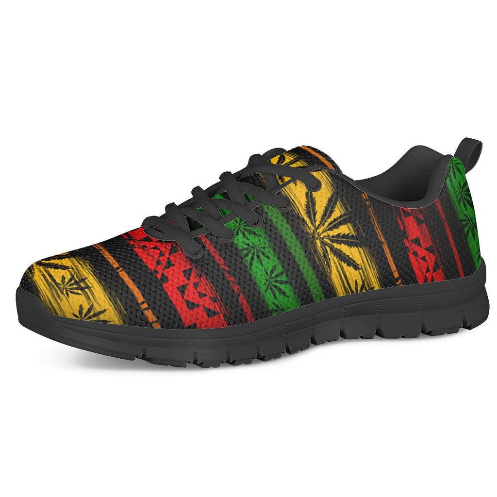 Rasta - Black Running Shoes
