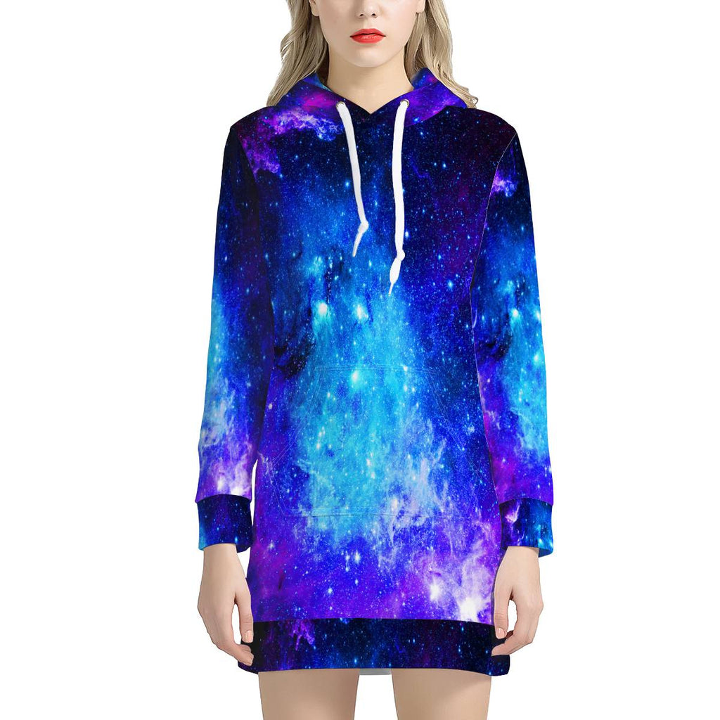 Icy Way - Women's Hoodie Dress