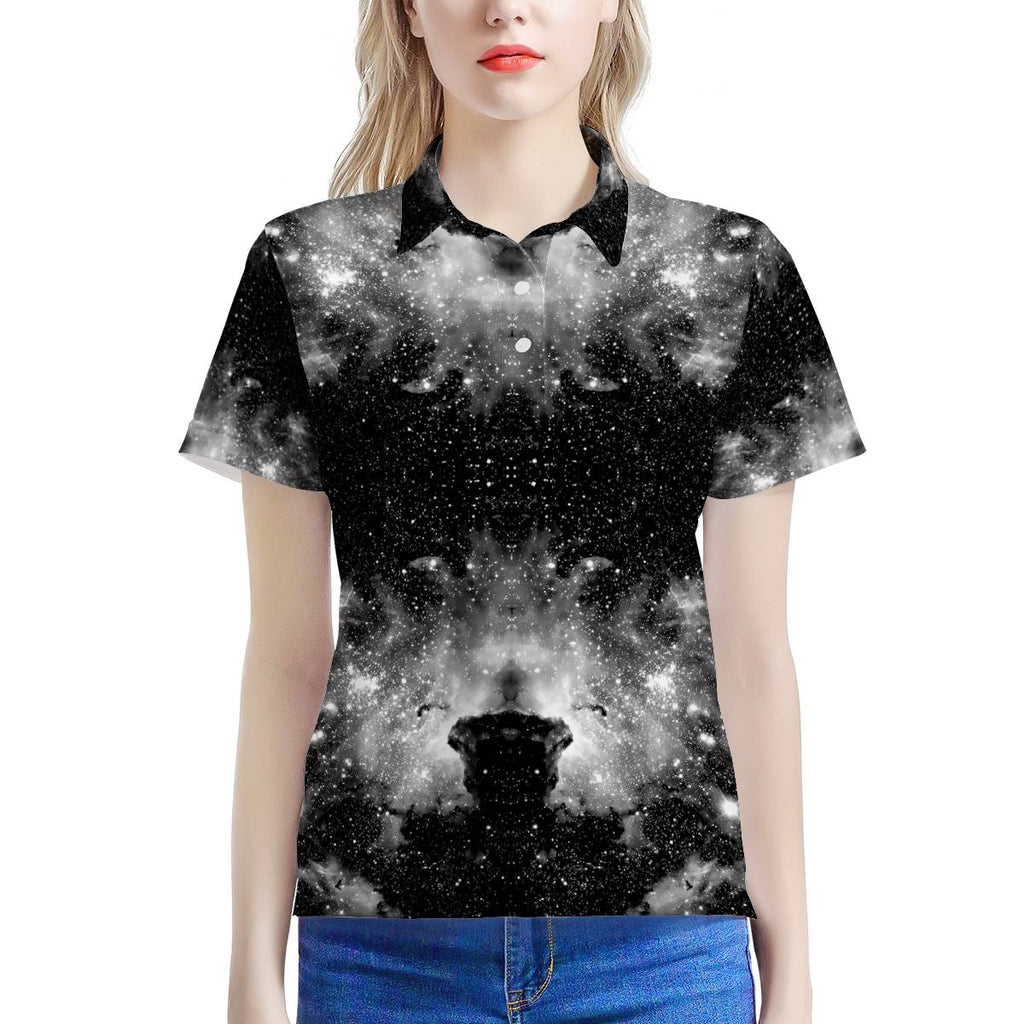 ET Blackout - Women's All Over Print Polo Shirt