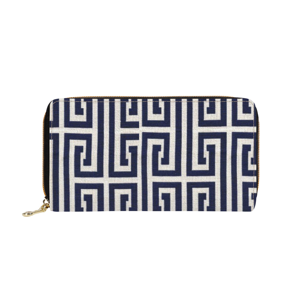 Emcee L Zipper Purse Clutch Bag