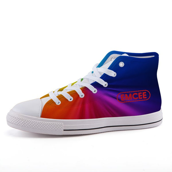 Emcee Ladies High-top fashion canvas shoes