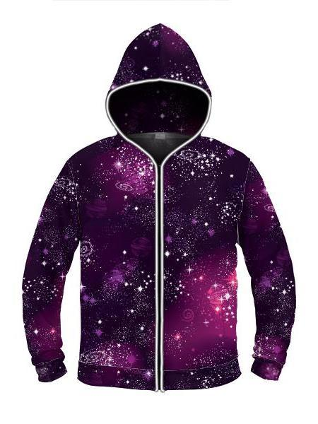 Emcee Cosmic Sparkle - Light Up Hoodie