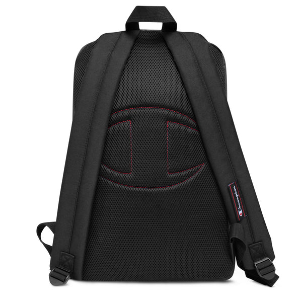 Emcee Embroidered Champion Backpack