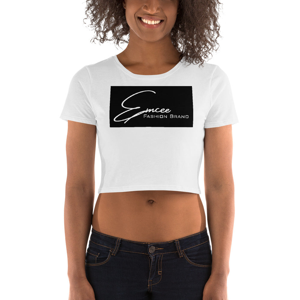 Emcee Fashion Brand Women's Crop Tee