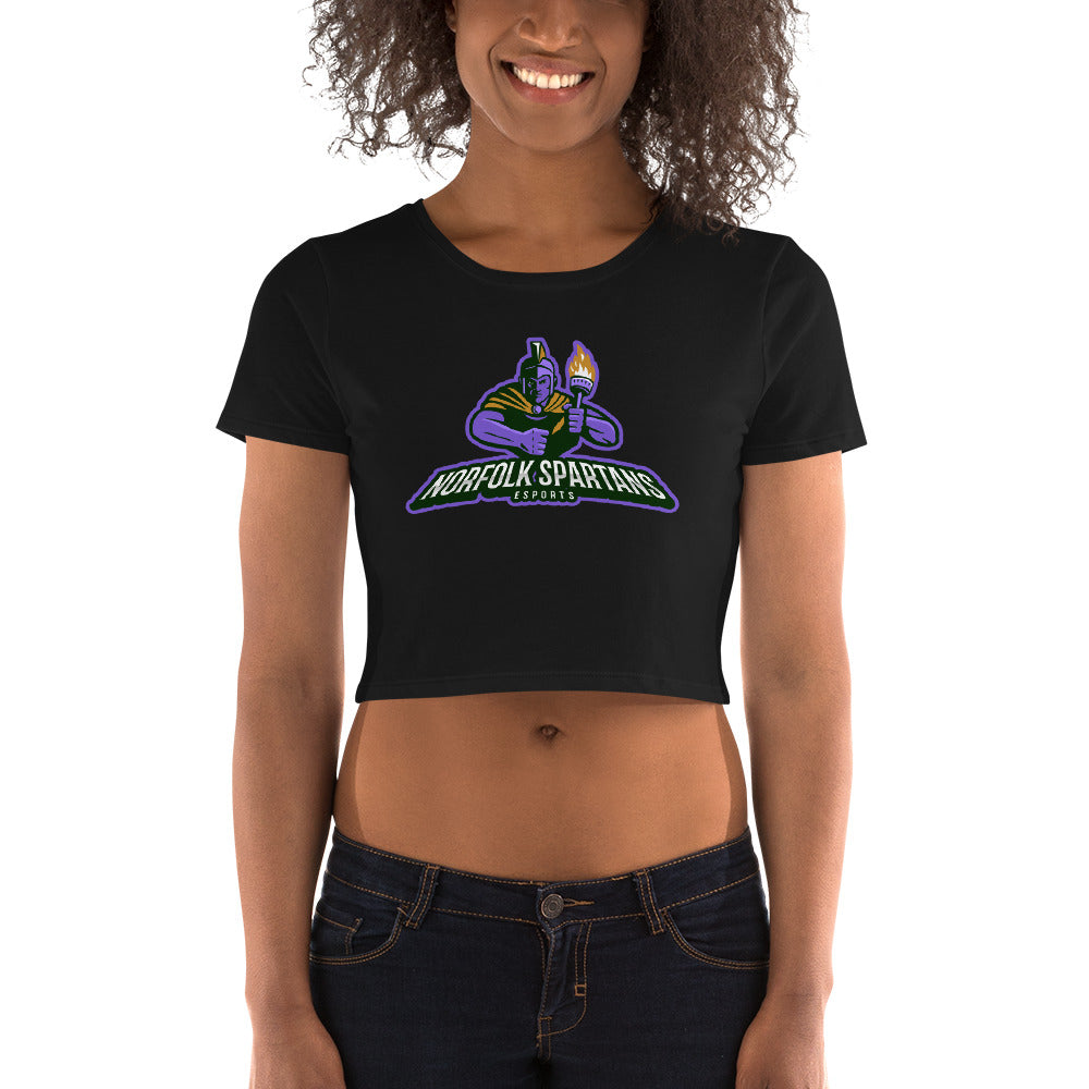 Spartans Women's Crop Tee