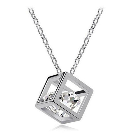 Chain Crystal Rhinestone Square - GirlsThingShop