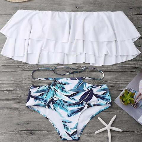 High Waist Swimsuit 2018 New Trend - GirlsThingShop