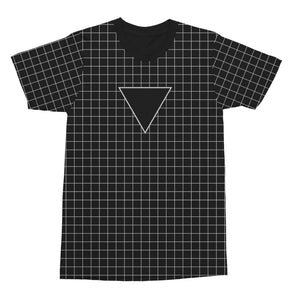 3LAU UV Grid Tee