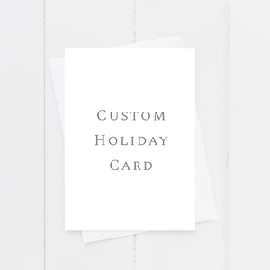 Custom Holiday Card