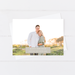 Full Photo Holiday Card (Landscape or Portrait)