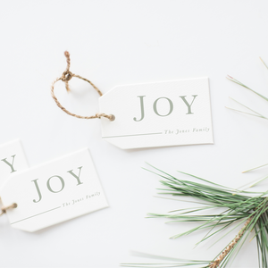 JOY Gift Tags (Set of 24)