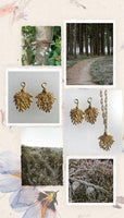 Moel Famau Heather earrings
