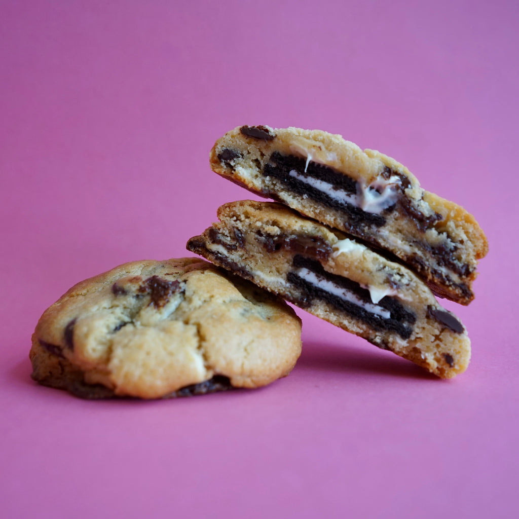 Oreo Stuffed Dark Choc Chip