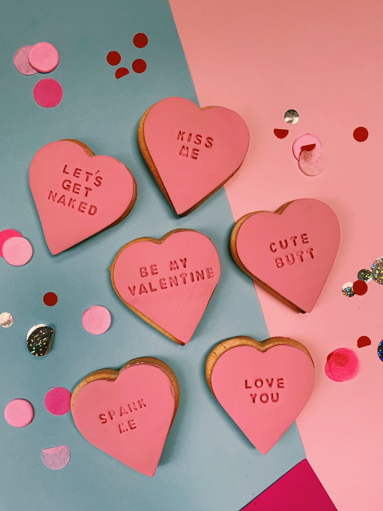 Personalised Valentine's Hearts