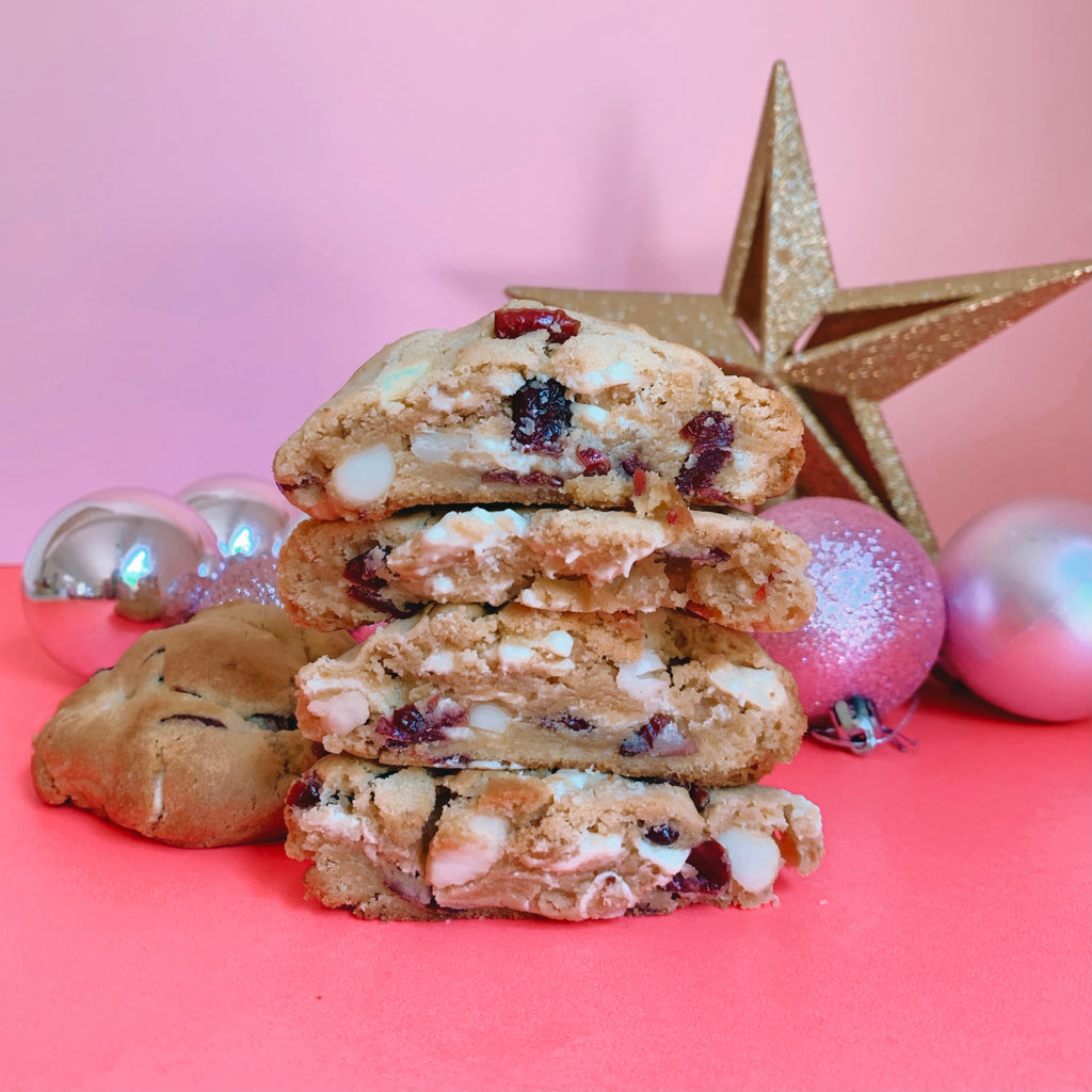 Mrs Claus' Cranberry Chunk