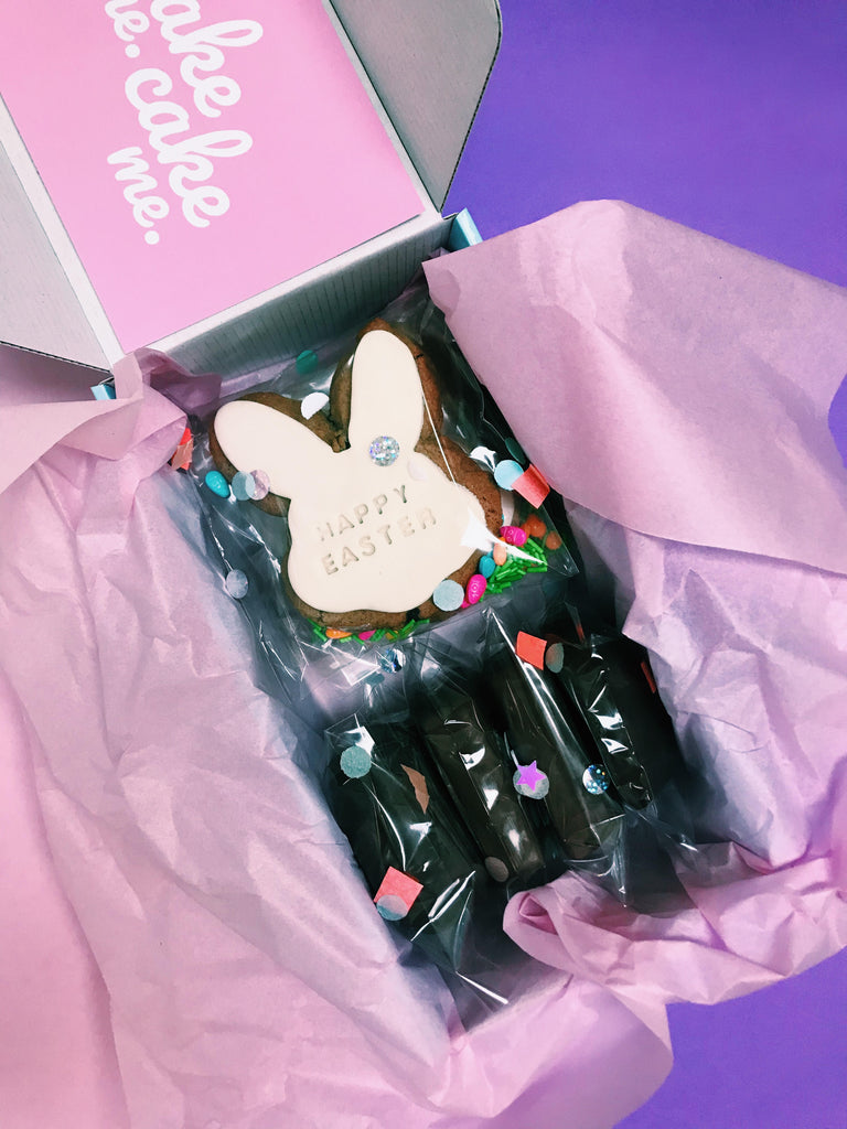 Mixed Choc Biccie & Hot Cross Cookie Gift Box
