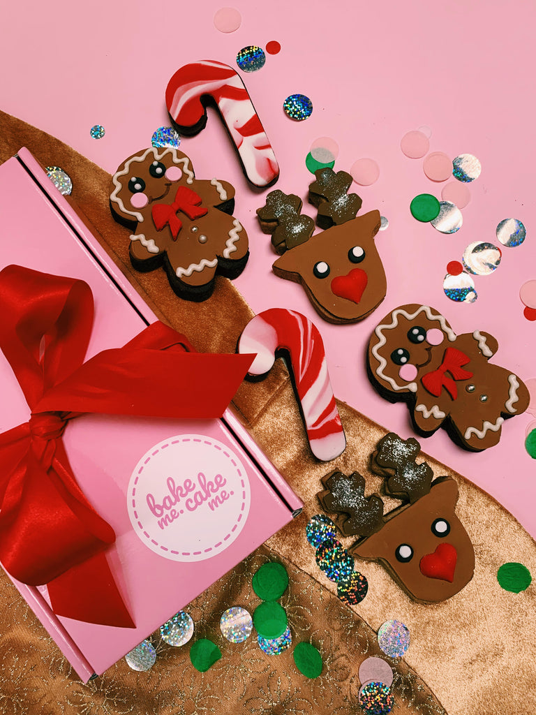 Mixed Christmas Biccie Box