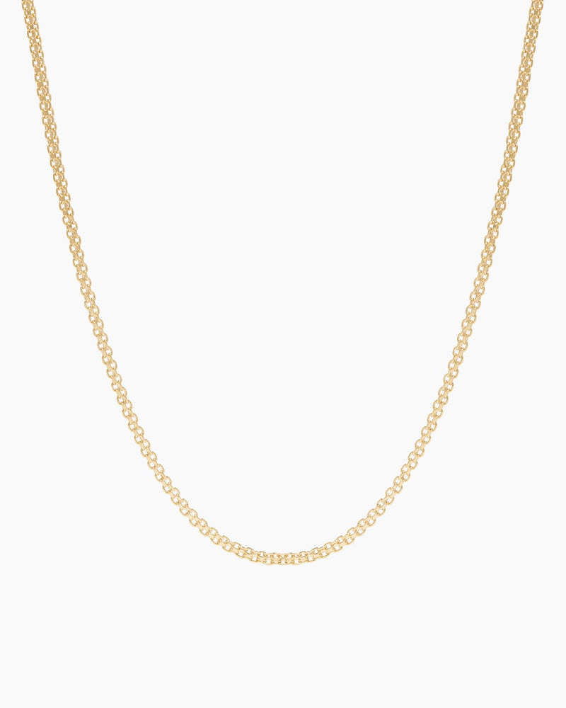 GOLD FILLED BISMARK CHAIN