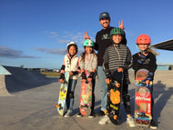 girls only gold coast skateboarding lesson with coach jesse noonan