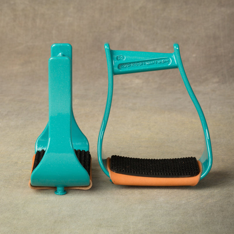 Turquoise STS Stirrups