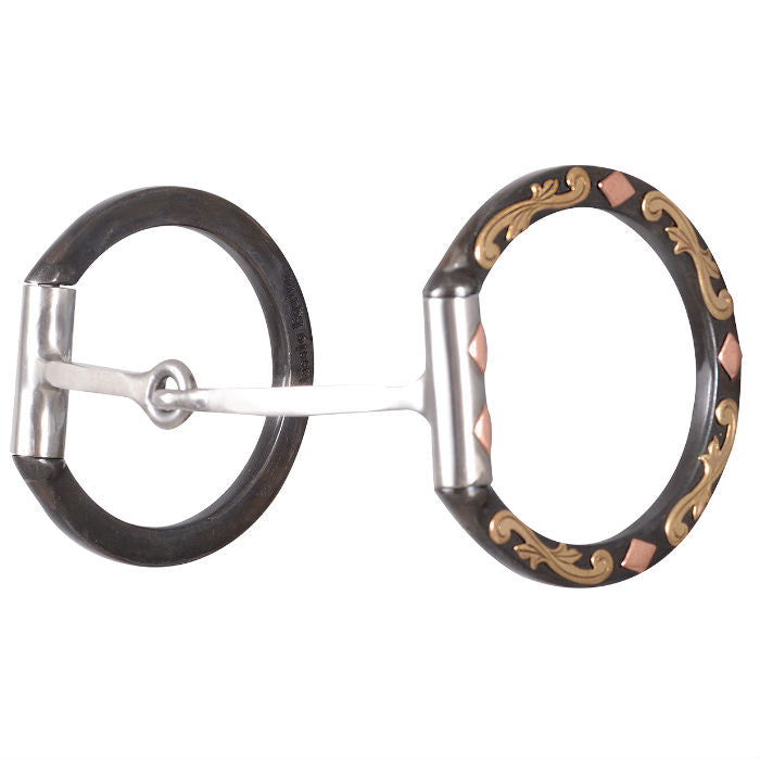 Diamond D Ring Square Snaffle