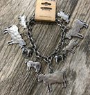 Bracelet, Charm with Cattle