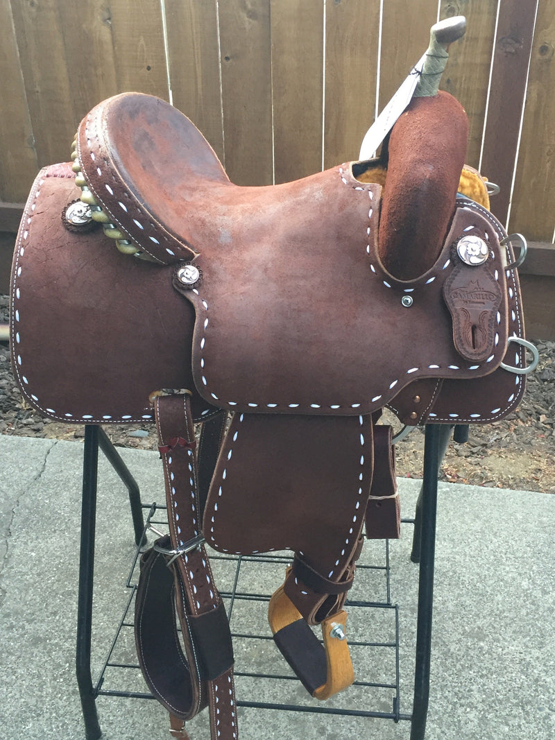 """Buckstitch Annie"" Team Camarillo Saddle by Reinsman"