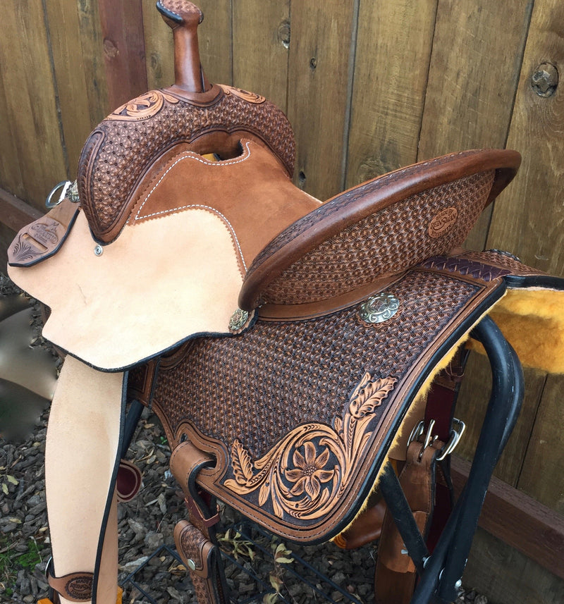"""Going for the Win"" Saddle"