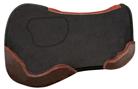 Sure Fit Orthopedic Saddle Pad, Black