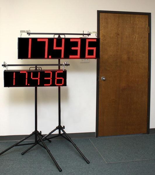"Scoreboard Spectator Display for Timers, 7"" or 10"""