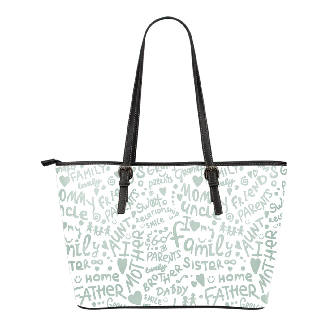 Family Small Tote Bag