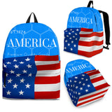 Blue AMERICA Backpack