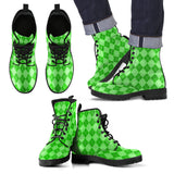 St Patricks Day Mens Leather Boots