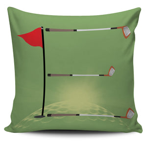 Golf Green Pillow Cover