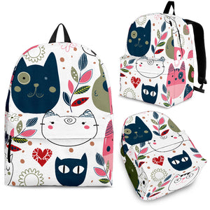 Cute Cat Backpack
