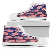 American Pride Men's High Top Sneaker