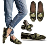 Camo Skull Women's Casual Shoes with Skulls