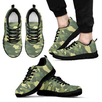 Camo Green Men's Sneaker