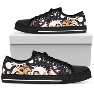 Gears (Black Sole) Men's Low Top Sneaker