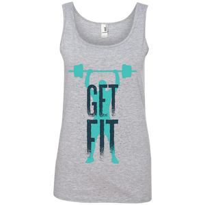 Get Fit 100% Ringspun Cotton Tank Top