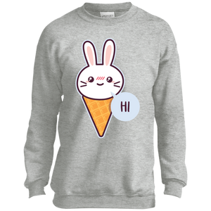Hi Rabbit Youth Crewneck Sweatshirt