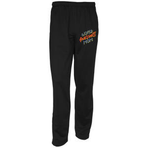 World Awesomest Mom Sport-Tek Youth Warm-Up Track Pants