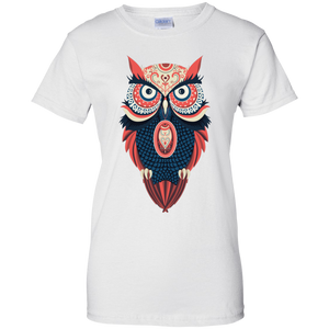 100% Cotton Owl Women's T-Shirt