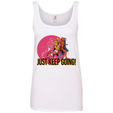 Just Keep Going 100% Ringspun Cotton Tank Top