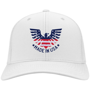 Made In USA Flex Fit Twill Baseball Cap