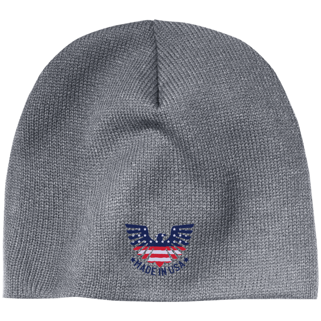 Made In USA 100% Acrylic Beanie