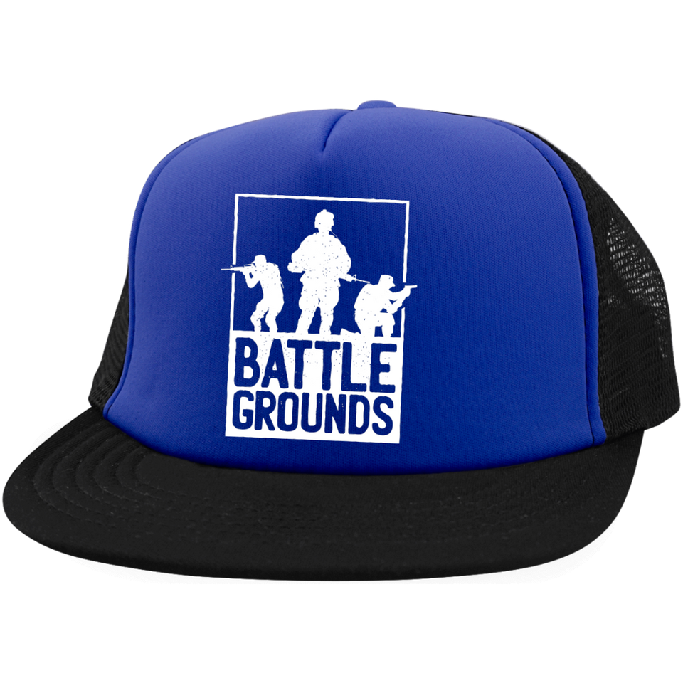 Battle Grounds Trucker Hat with Snapback