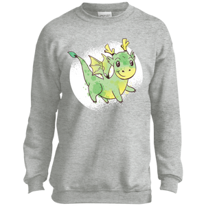 Cute Dragon Youth Crewneck Sweatshirt