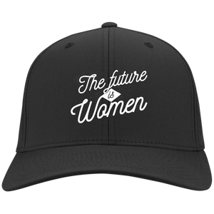 The Future Is Women Flex Fit Twill Baseball Cap