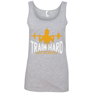 Train Hard 100% Ringspun Cotton Tank Top
